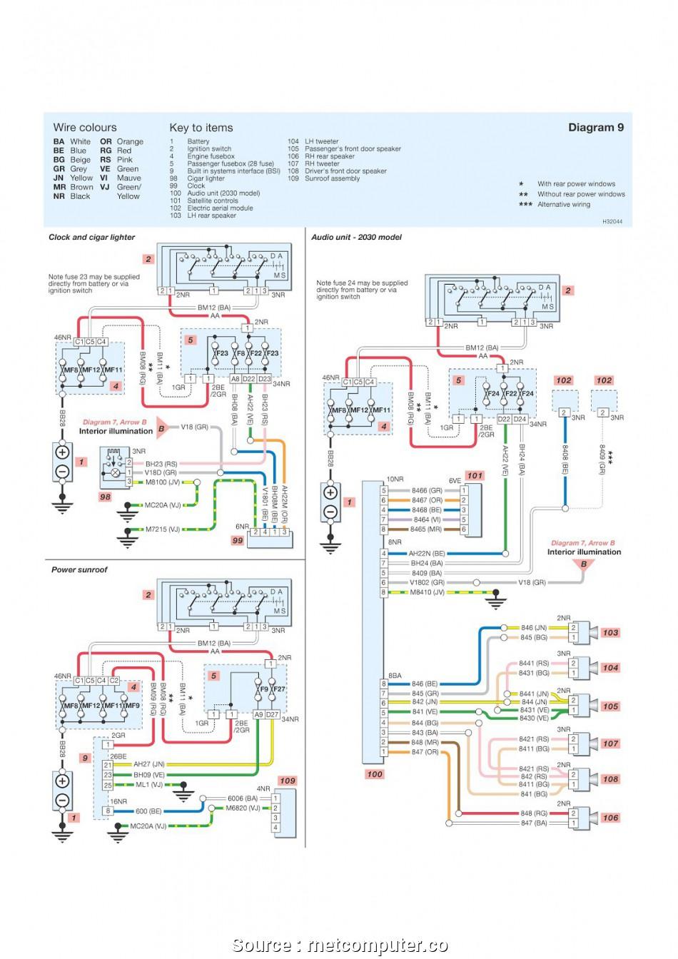 Peugeot 307 Bsi Wiring Diagram