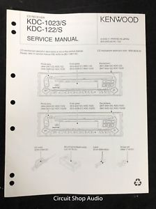 Enjoyable Original Kenwood Kdc 1023 S 122 S Cd Receiver Service Manual Wiring Cloud Onicaalyptbenolwigegmohammedshrineorg