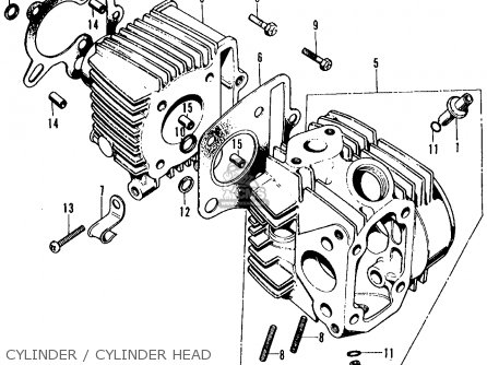Admirable Honda Ct70 Trail 70 1972 Ct70K1 Usa Parts Lists And Schematics Wiring Cloud Uslyletkolfr09Org