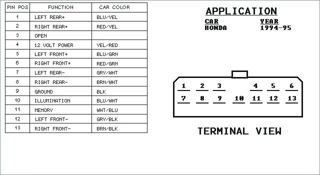 1998 honda accord speaker diagram  active wiring diagram
