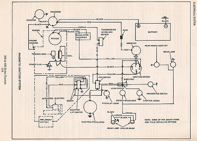 wiring diagram allis chalmers 712 ws 2578  allischalmers 300 series wiring diagrams allis simplicity  wiring diagrams allis simplicity