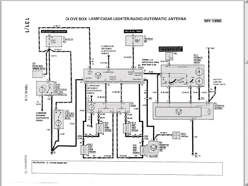 1993 Mercedes 300e Ignition Switch Wiring Diagram