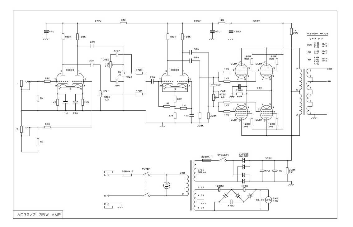 [SCHEMATICS_4ER]  TK_9560] Vox Amp Schematic Wiring Diagram | Vox Amp Schematic |  | Onom Tron Marki Tacle Aeocy Tran Boapu Mohammedshrine Librar Wiring 101