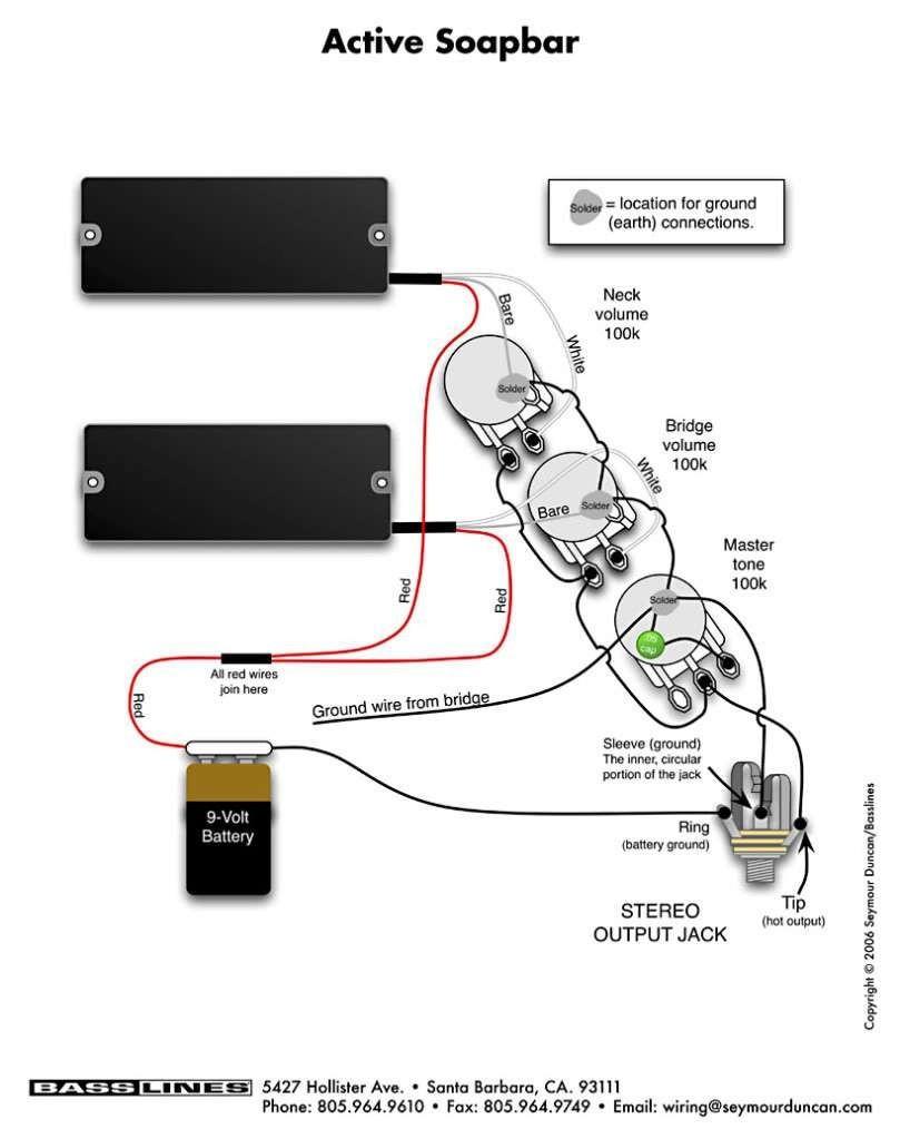 Ow 2266 Seymour Duncan Jazz Wiring Diagrams Free Diagram
