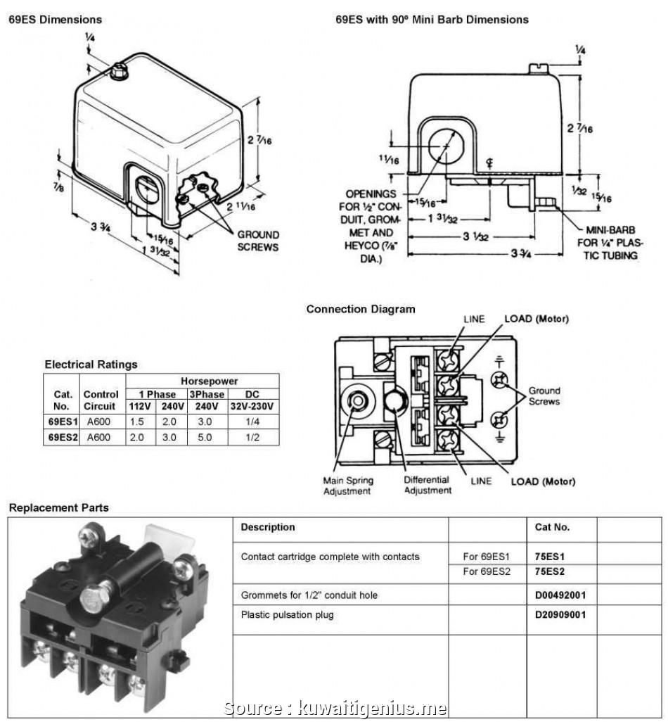 Mercoid Presssure Switches Wiring Diagram