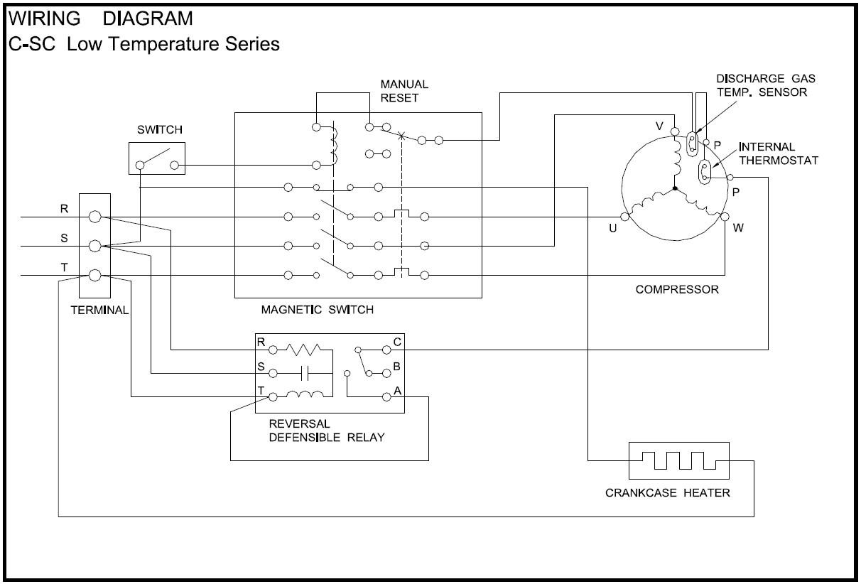Ox 0209 Refrigerator Relay Wiring Diagram Also Copeland