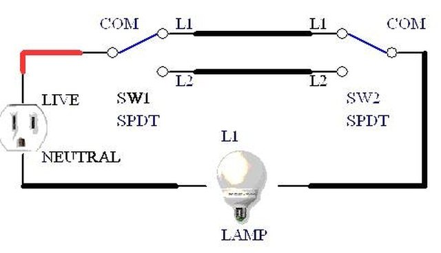 Incredible How Do Two Way Light Switches Work Ehow Wiring Cloud Picalendutblikvittorg
