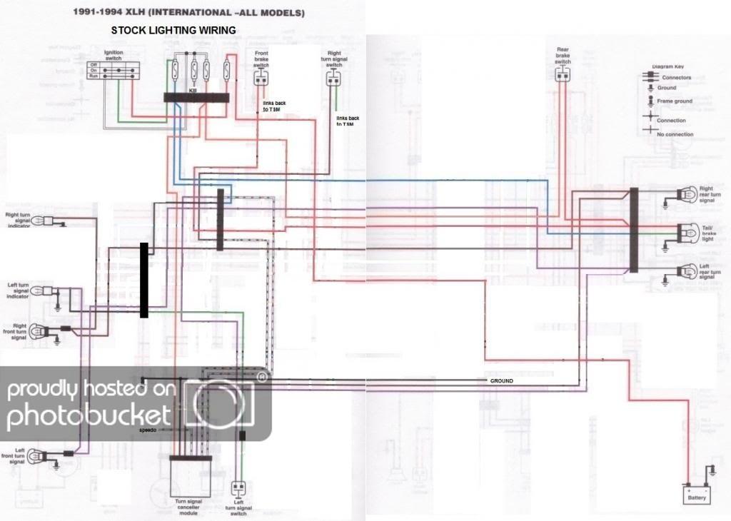 Sportster Wiring Diagram 1991