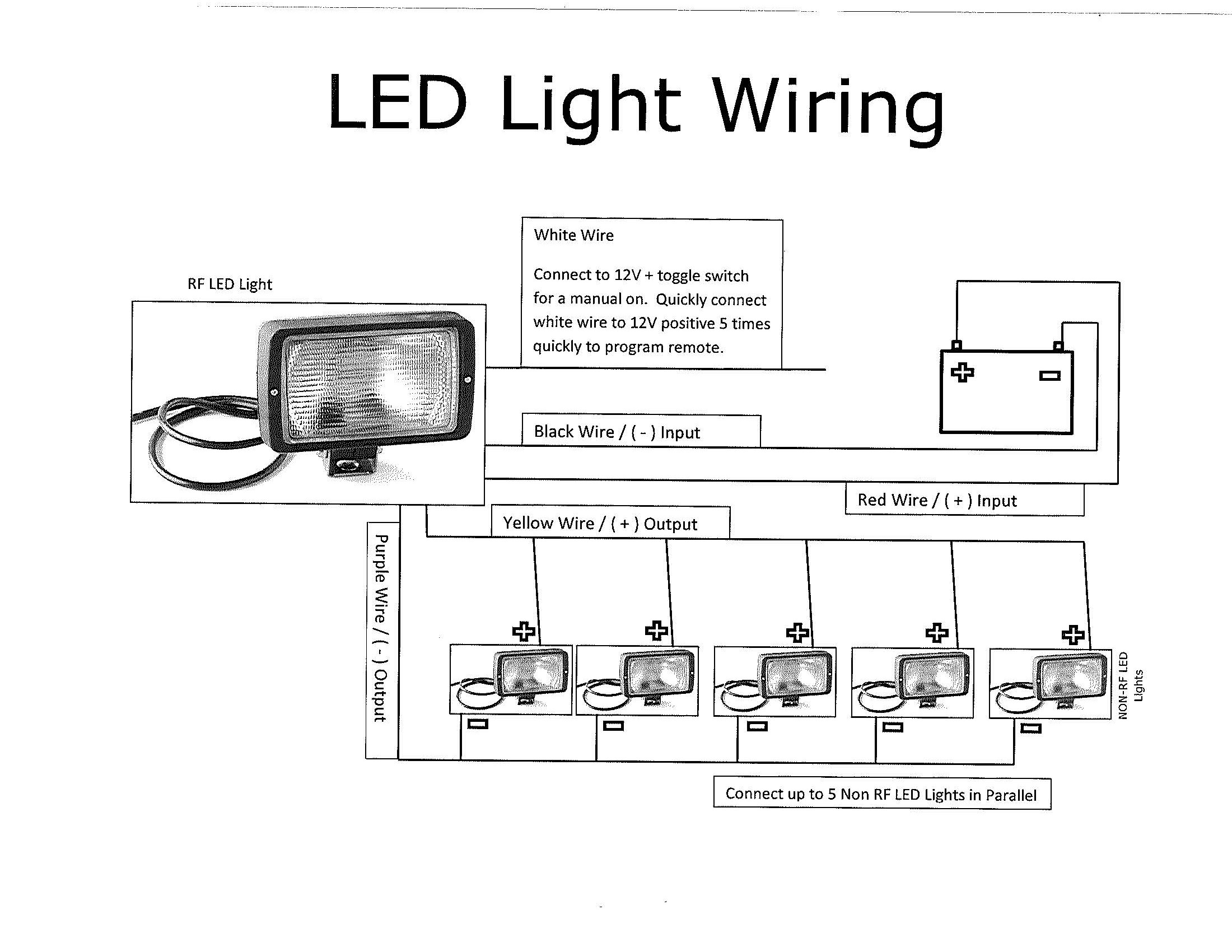 Awe Inspiring Led Work Light Wiring Diagram Wiring Diagram Wiring Cloud Monangrecoveryedborg