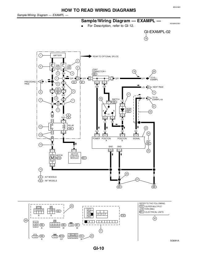 1996 nissan quest wiring diagram - schematic wiring diagram  camelotunchained.it