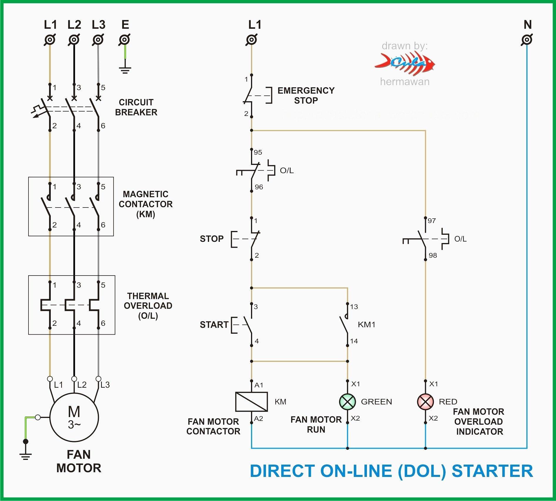 Diagram Vb 2018 Dol Starter Circuit Diagram Download Diagram
