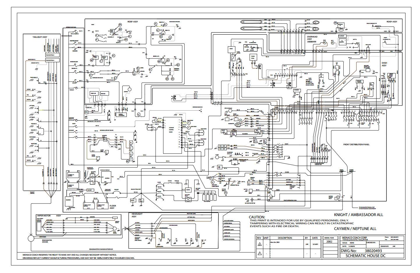 monaco rv dash ac wiring diagram monaco motorhome wiring diagram wiring diagram data  monaco motorhome wiring diagram