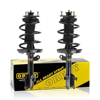 Astounding Amazon Com Oredy Front Pair Complete Struts Assembly Shock Coil Wiring Cloud Faunaidewilluminateatxorg