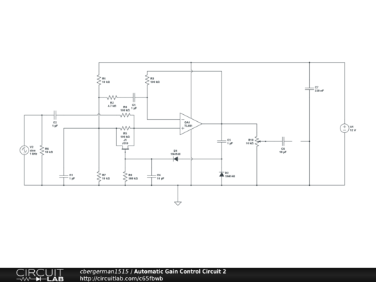 Stupendous Automatic Gain Control Circuit 2 Circuitlab Wiring Cloud Timewinrebemohammedshrineorg