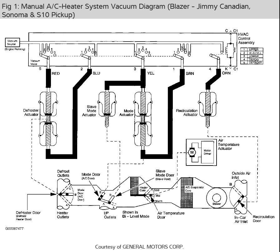 Under Dash Air Conditioner Wiring Diagram