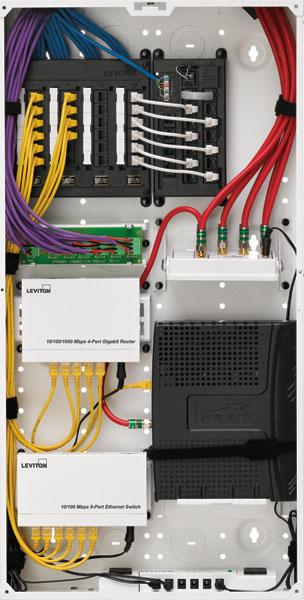 Swell Leviton 47605 28W Series 280M Structured Media Center With Cover Wiring Cloud Licukosporaidewilluminateatxorg
