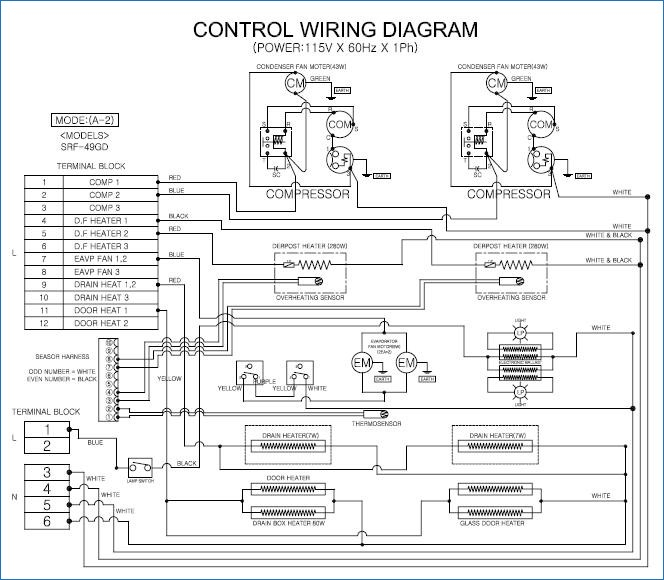 true freezer wiring diagram  wiring diagram for john deere