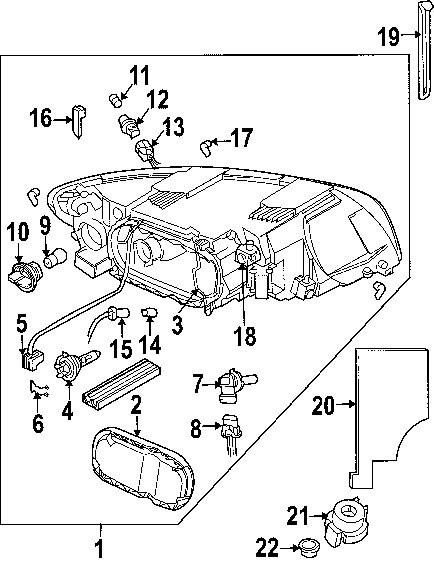 Sf 2581 2000 Volvo S40 Headlight Wiring Diagram Wiring Diagram