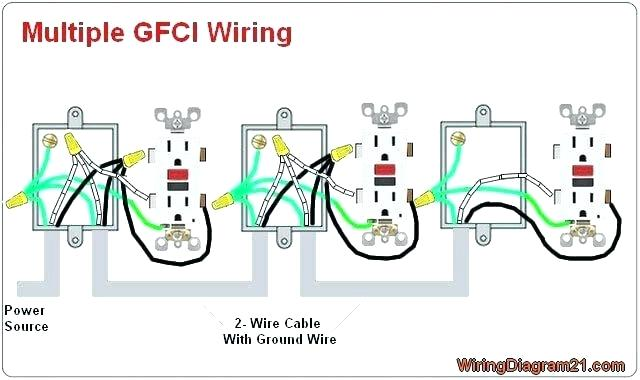 Nx 7390 Wiring Outlets In Series Diagram How To Wire Gfci Outlets Download Diagram