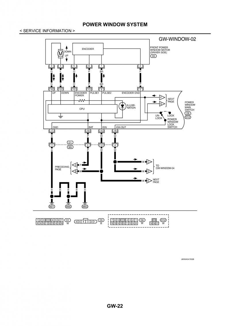 Nissan Navara Wiring Diagrams