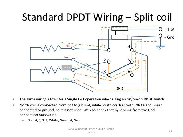 Mt 0839 Push Pull Humbucker Coil Split Wiring