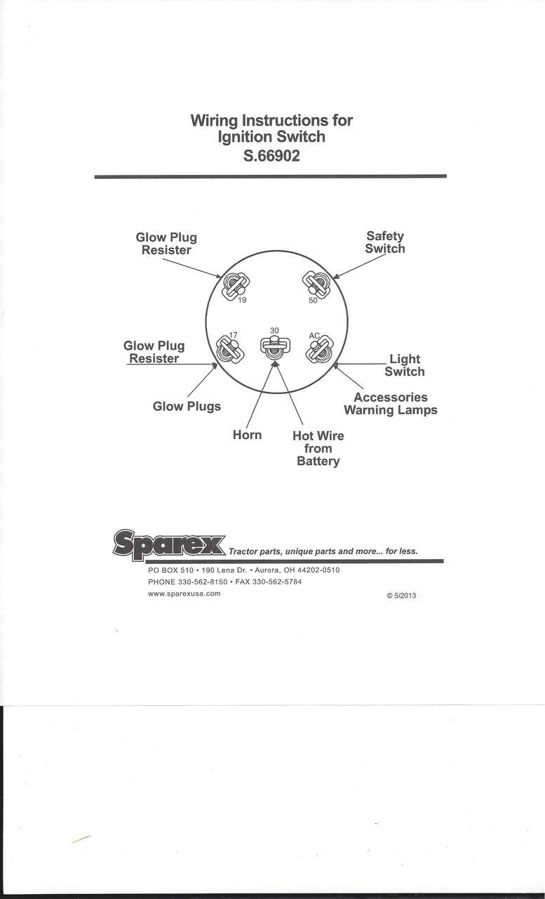 Ford 3000 Tractor Ignition Switch Wiring Diagram - Wiring ...