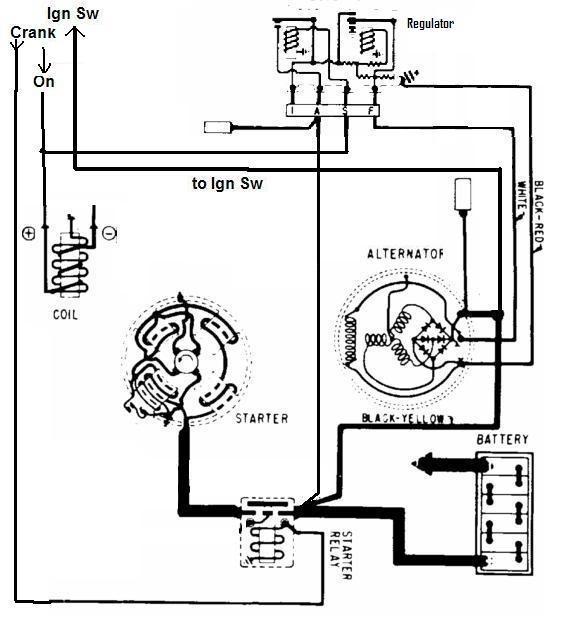 1965 Ford Alternator Wiring Diagram Schematic Wiring Diagram Level Level Lastanzadeltempo It