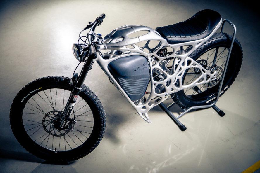 Pleasant Apworks Light Rider 3D Printed Electric Motorcycle Inhabitat Wiring Cloud Cranvenetmohammedshrineorg