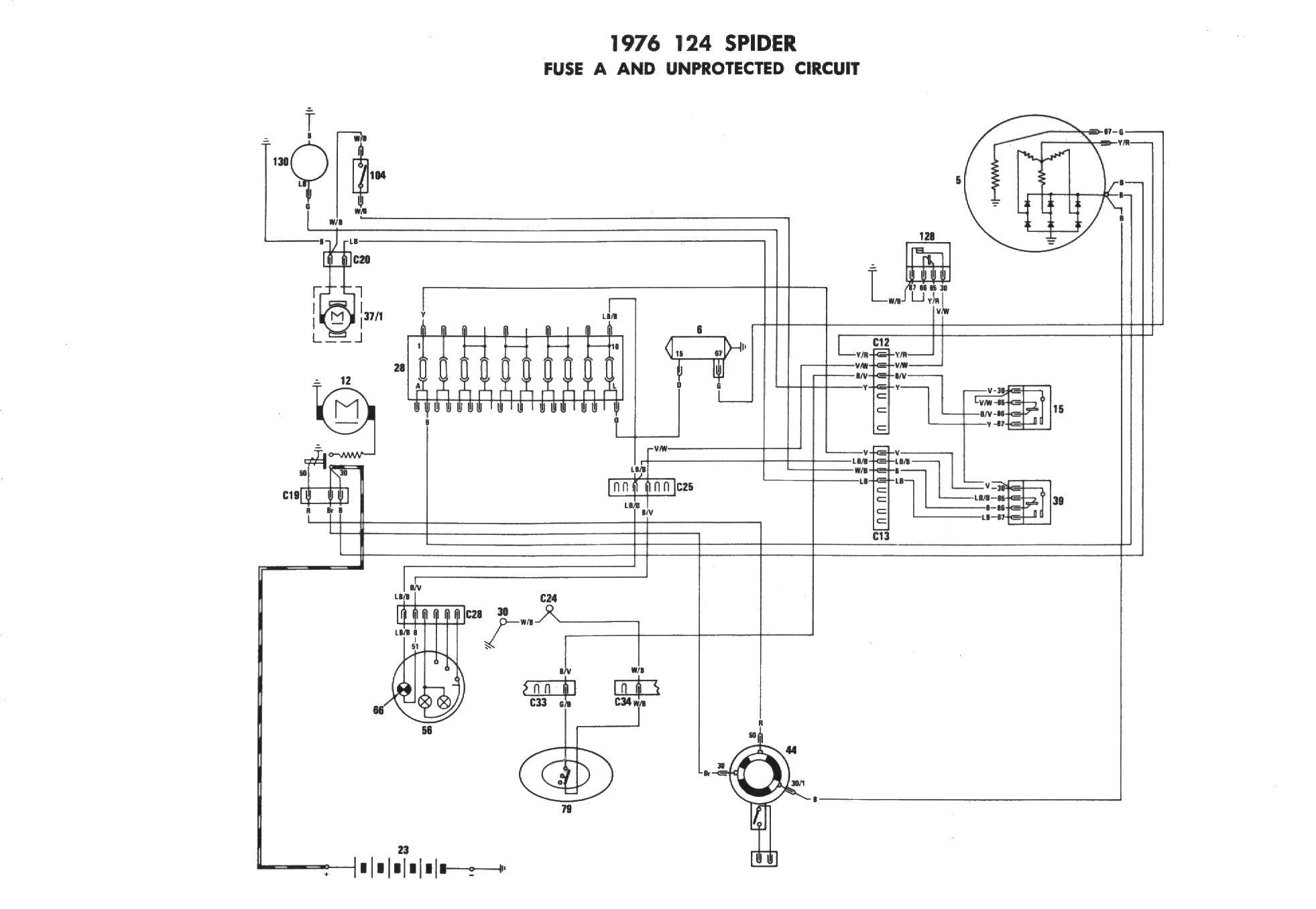 OH_3849] Light Wiring Diagram In Addition 1974 Fiat 124 Spider Convertible  Free DiagramPila Greas Feren Inki Gue45 Mohammedshrine Librar Wiring 101
