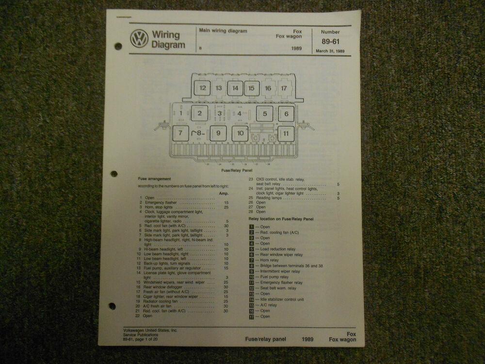 [ANLQ_8698]  OX_3282] 88 Volkswagen Fox Fuse Box Diagram Wiring Diagram | Fox Fuse Box |  | Aspi Hendil Denli Ntnes Xeira Mohammedshrine Librar Wiring 101