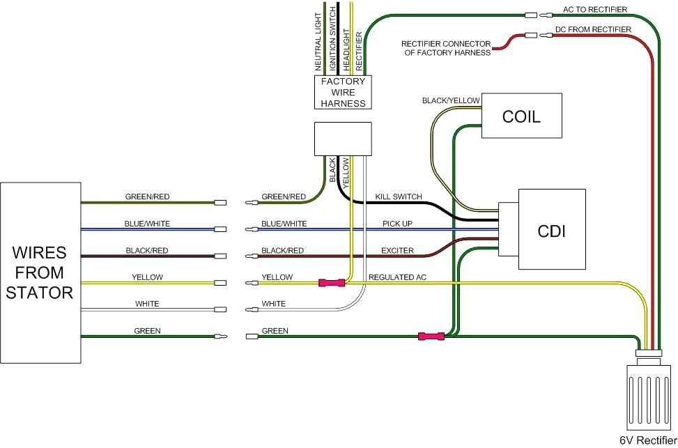 Ok 6353 Pit Bike Wiring Diagram Cdi 5 Wire System Loom How