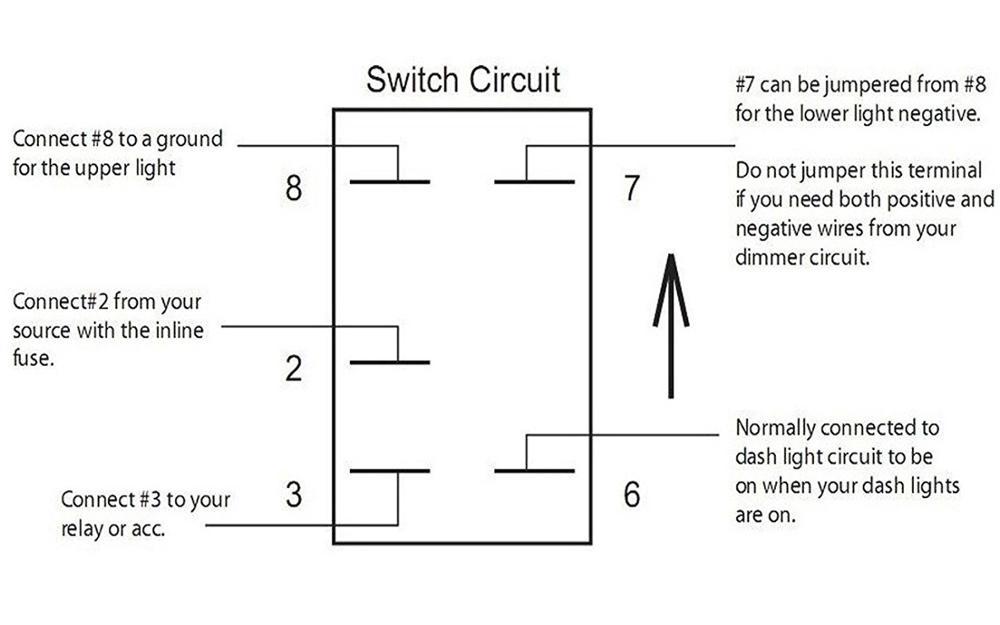 Rd 6679 20 Amp Off Road Rocker Switch Wiring Diagram Wiring