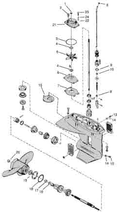 Awe Inspiring Mercury Outboard Parts Drawings Tech Video Wiring Cloud Filiciilluminateatxorg