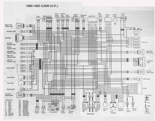 1983 yamaha maxim 750 wiring diagram zo 5393  yamaha xj series minimum wiring diagram wiring diagram  yamaha xj series minimum wiring diagram