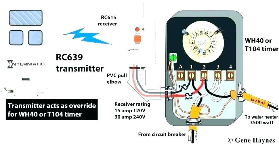 timer photocell wiring diagram  ignition coil distributor