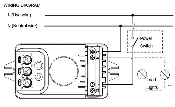 zenith motion sensor wiring diagram wiring diagram for sensor porchlight wiring diagram data  wiring diagram for sensor porchlight