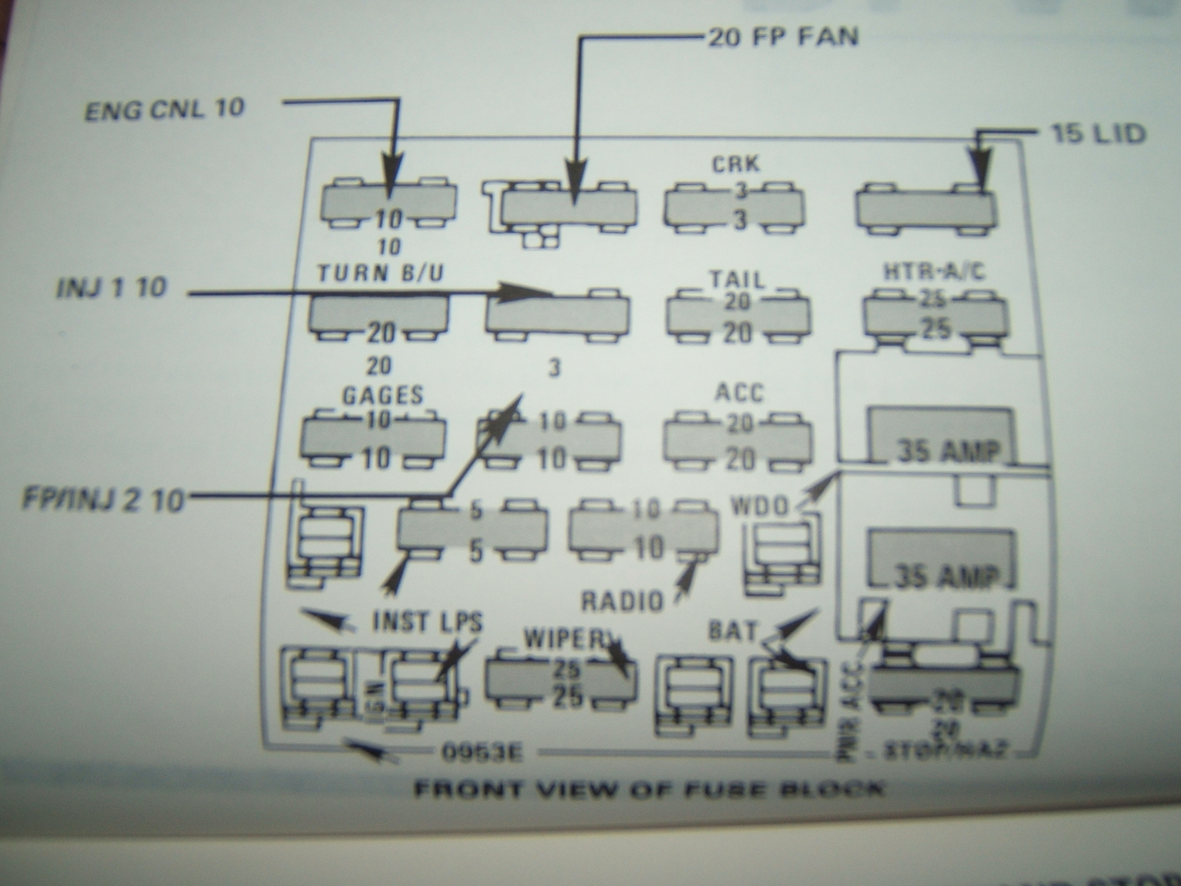 KW 40] Camaro Fuse Box Diagram Together With 40 Buick Regal ...