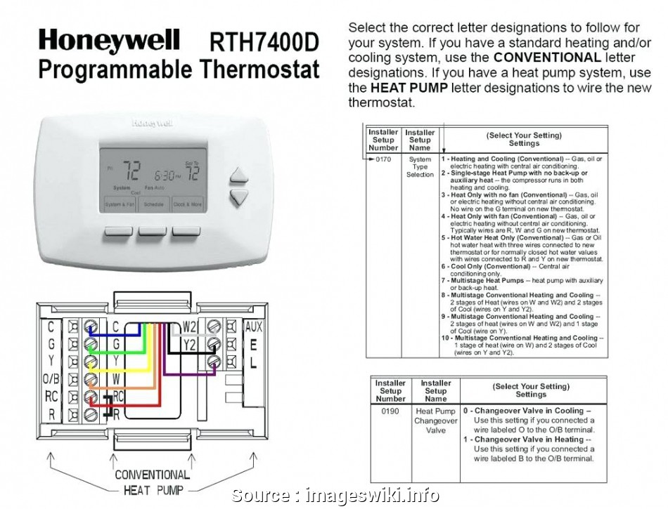 Ln 2953 7 Wire Thermostat Wiring Diagram Free Diagram
