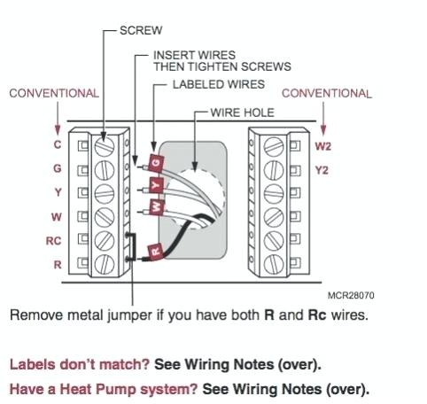 honeywell thermostat wiring diagram 2wire system tracker