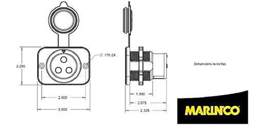 ya2446 wiring a marinco trolling motor plug wiring diagram