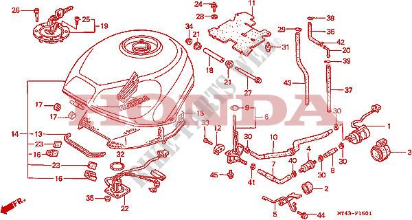 OB_7446] Vfr 750 1995 Fuel Tank Diagram Wiring Diagram