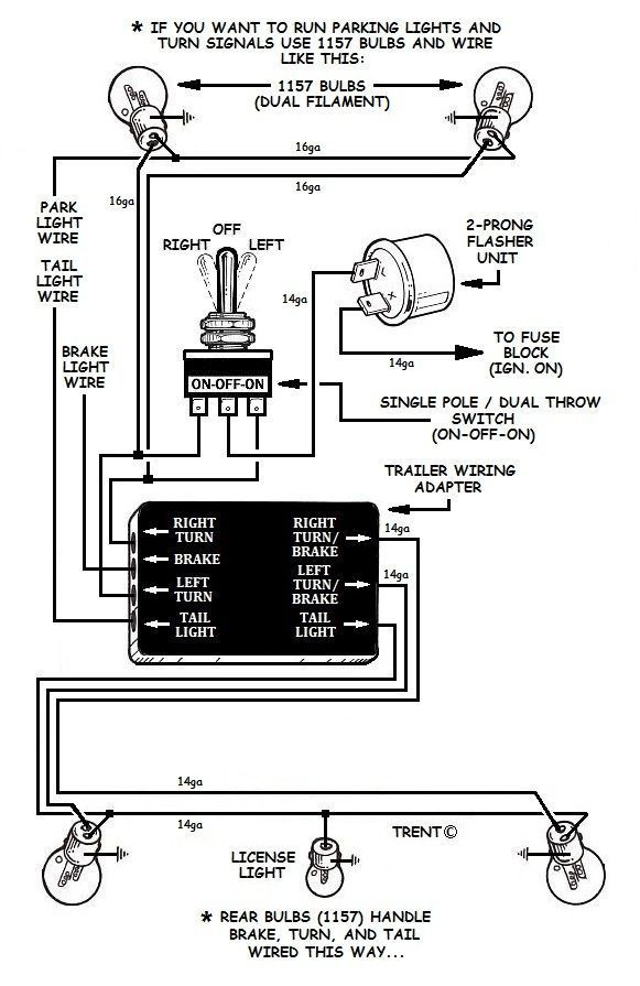 Swell How To Add Turn Signals And Wire Them Up The Basics Cars And Wiring Cloud Monangrecoveryedborg