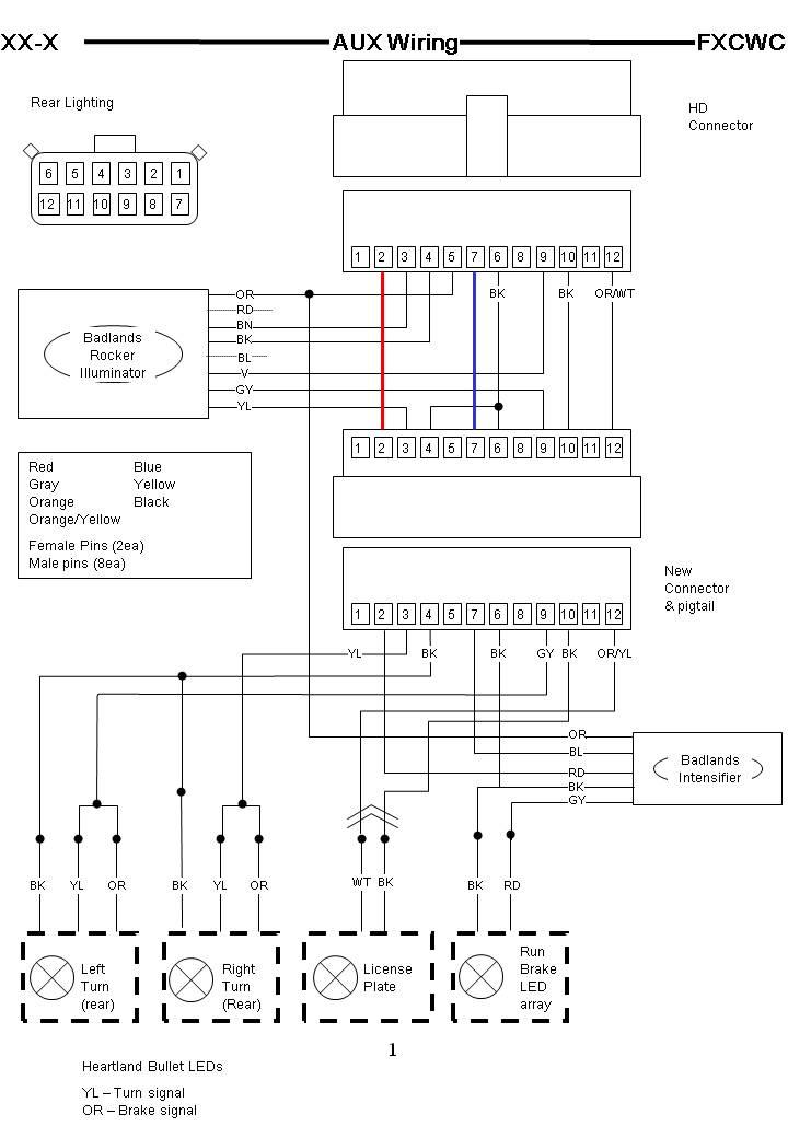 Wondrous Harley Davidson Radio Wiring Harness Diagram General Wiring Wiring Cloud Ittabisraaidewilluminateatxorg