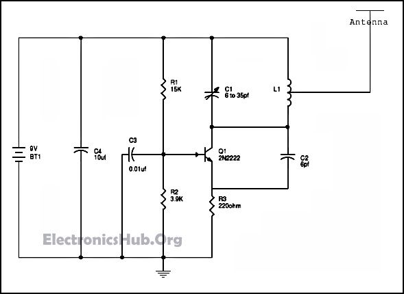 Fine Jammer Schematic Diagram And Circuits Further Simple Am Radio Wiring Cloud Gufailluminateatxorg