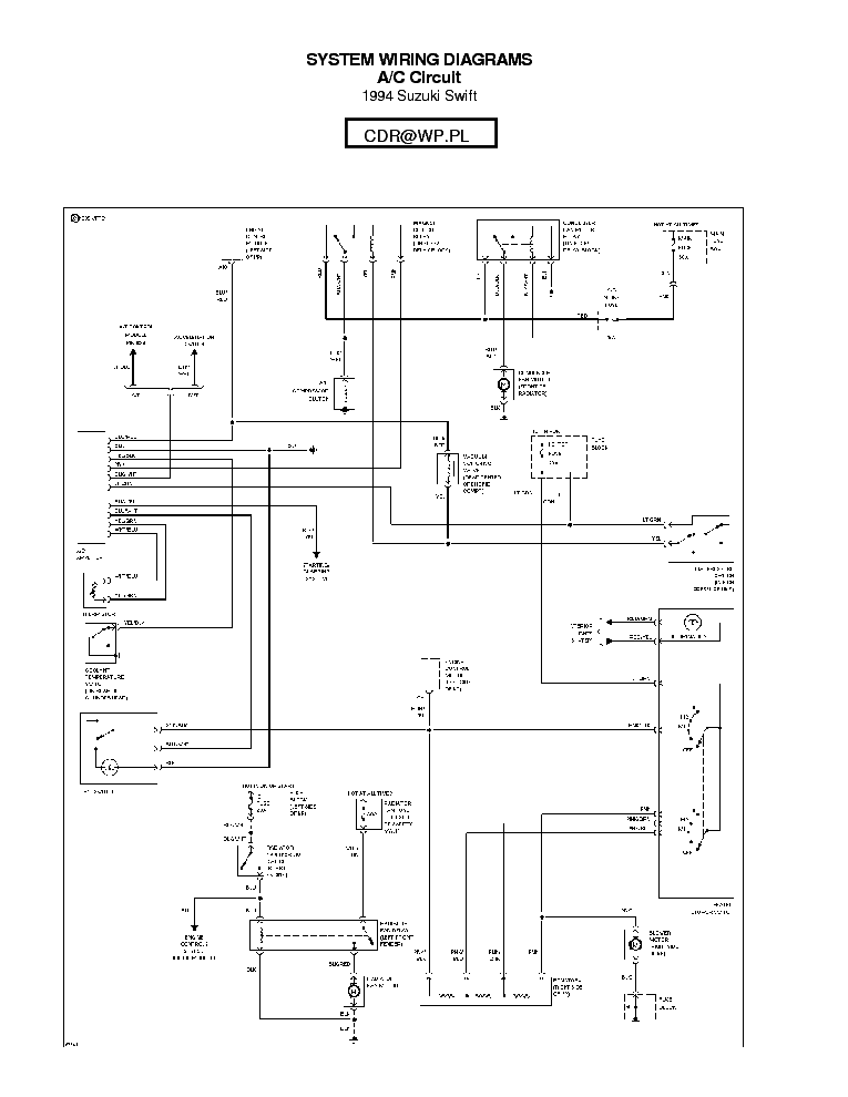 Fa 1872  Suzuki Swift Wiring Diagram 2005 Download Diagram