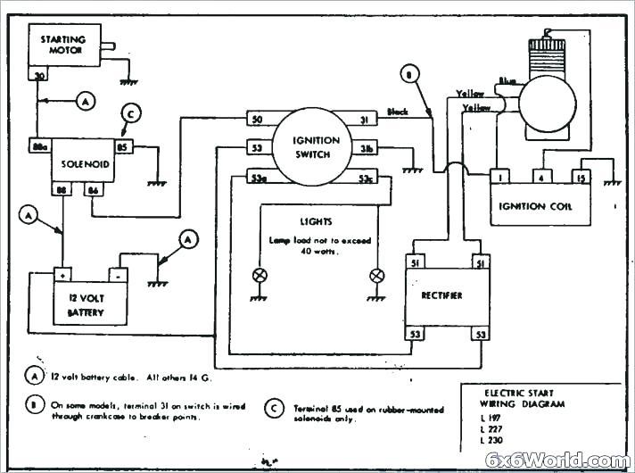 kohler command 12 5 ohv wiring diagram  1985 nissan