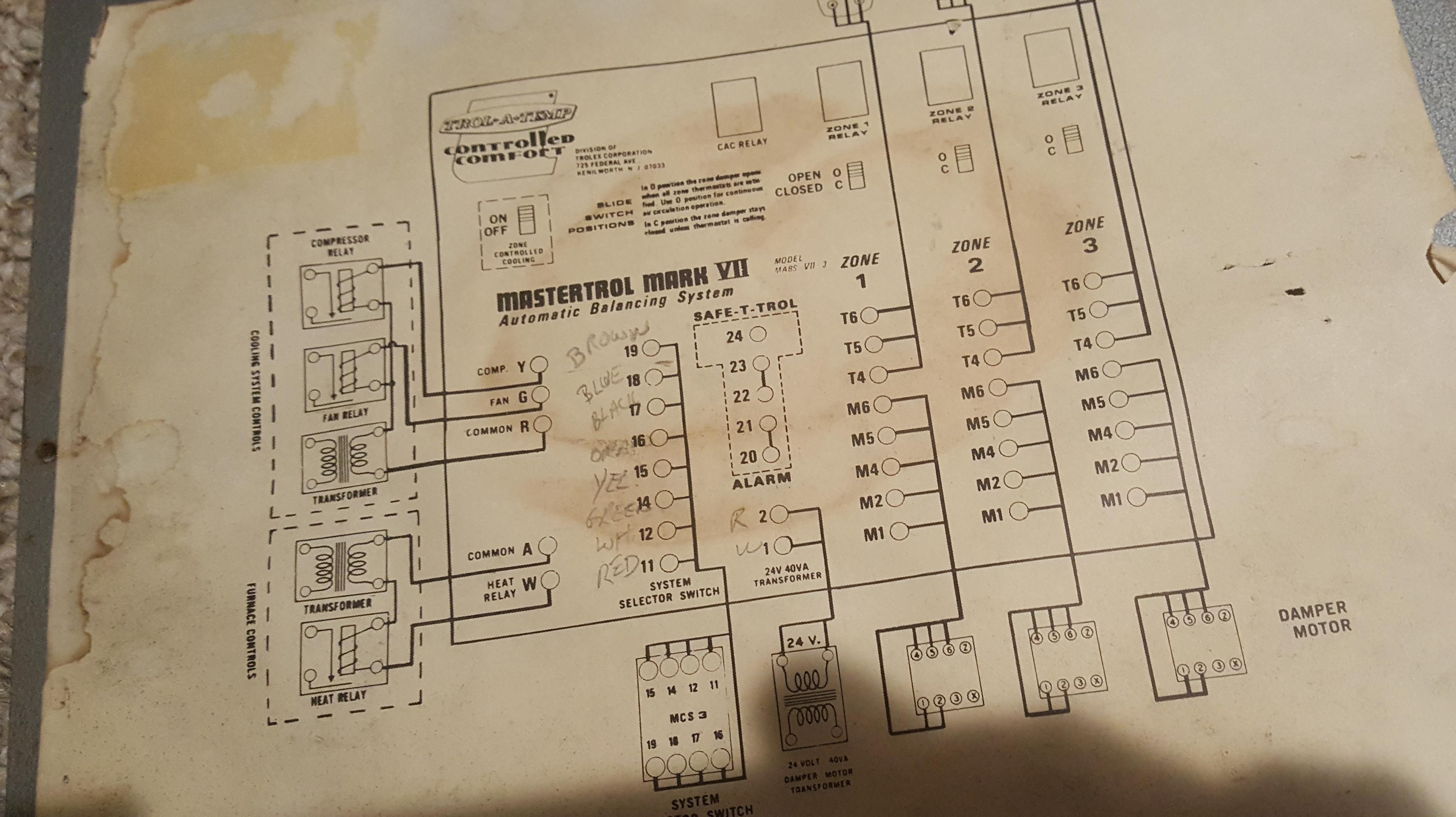 Honeywell Th522od1029 Wiring Diagram