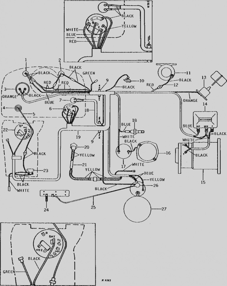 John Deere Model 111 Wiring Diagram - Wiring Diagram