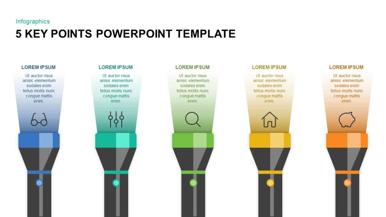Awe Inspiring 5 Key Points Powerpoint Template Keynote Slidebazaar Com Wiring Cloud Dulfrecoveryedborg