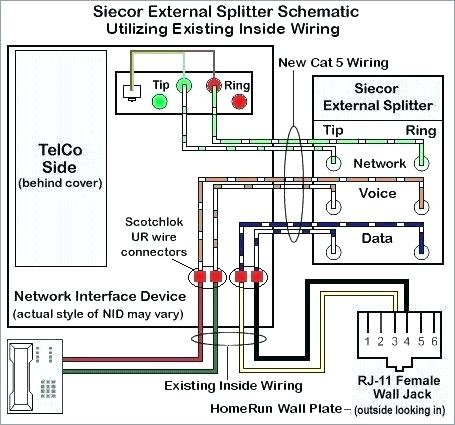 Sensational Wiring Wall Jack Data Diagram Cat 5 Cat5E Color Code Wiring Cloud Staixaidewilluminateatxorg